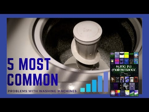 Five most common problems with washing machines how to save money and do it yourself - Common washing machine problems ...