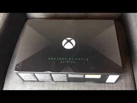 Xbox One X Scorpio Edition Unboxing