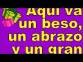 QUE DIOS TE BENDIGA Y QUE [video]