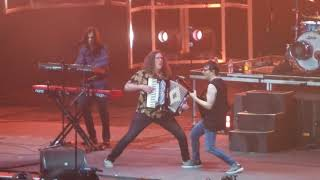 """Weezer performing """"Africa"""" cover with Weird Al Yankovic at the Forum"""