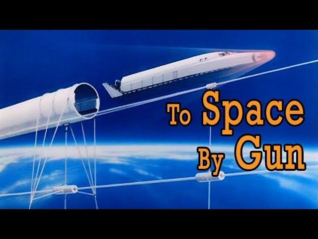 Could We Launch Spacecraft with a Giant Space Gun?