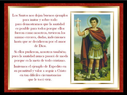 San Expedito - oración