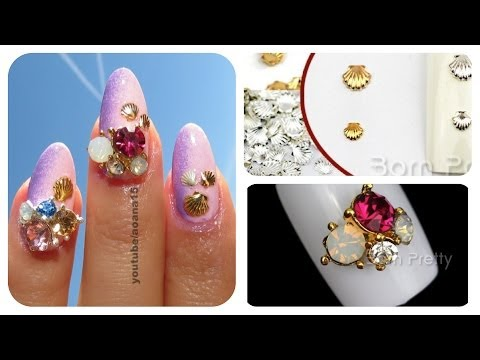 Bornprettystore.com Metal Shells And Big Jewelry For Nails REVIEW