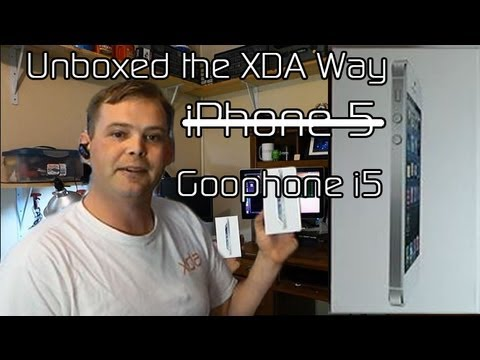 GooPhone i5 Unboxed the XDA Way