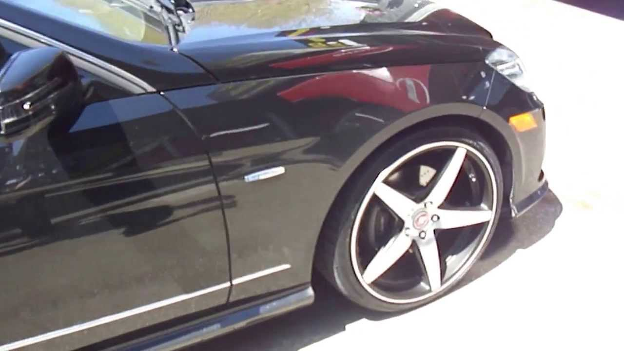 Hillyard custom rim tire 2013 mercedes benz e350 bluetec rolling on 20 quot bavaria bc5 rims youtube