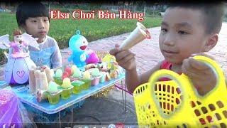 Elsa&Spiderman Chơi trò chơi Bán Hàng&Mua Đồ Ăn Vặt Cực Vui*_* Baby channel