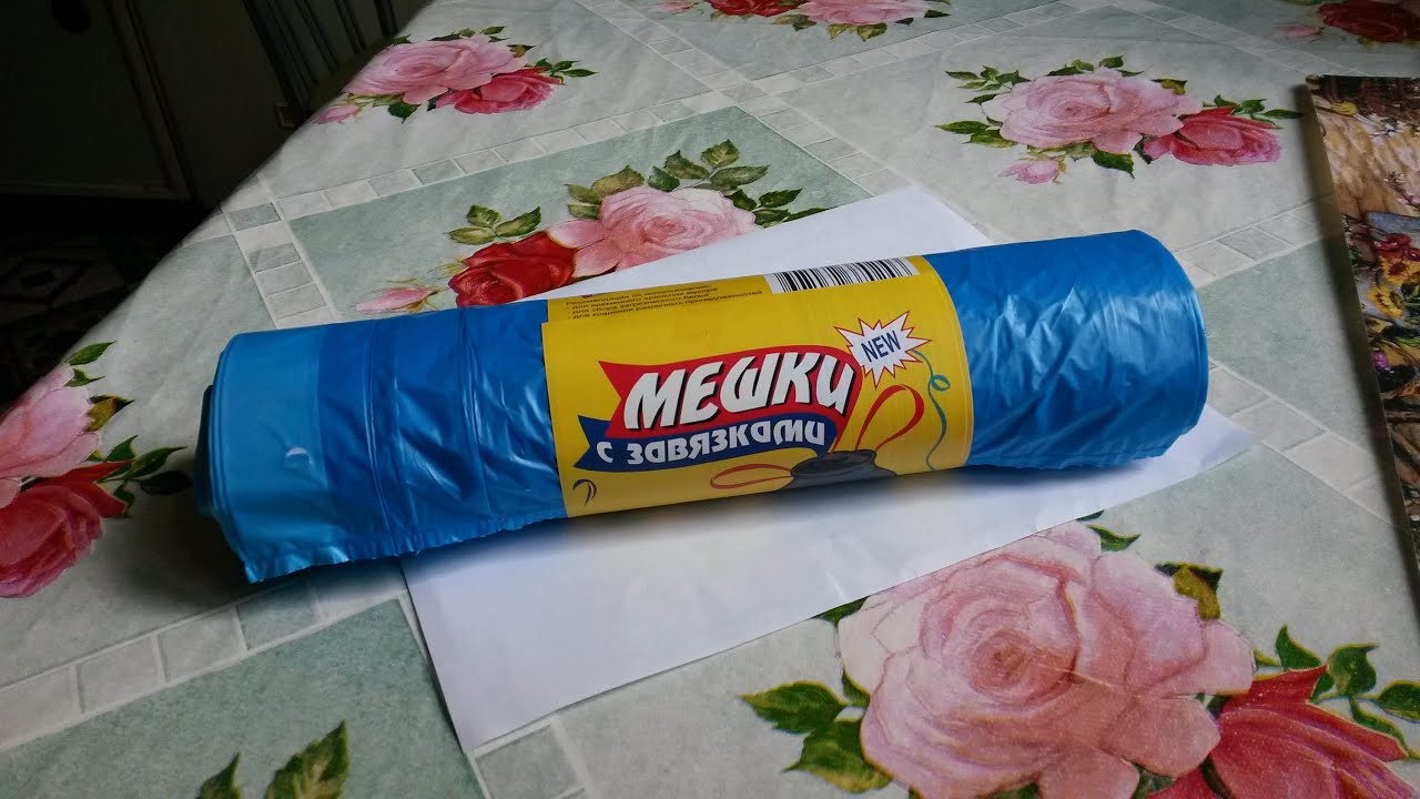 Как сделать юбку из мусорных пакетов / Всё о рукоделии! 50