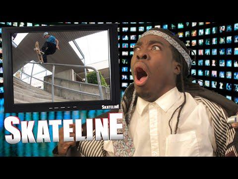 SKATELINE - Bastien Salabanzi, 16 Stair Boneless, Brodie Penrod, Down Bad,  NWA, Bone Thugs