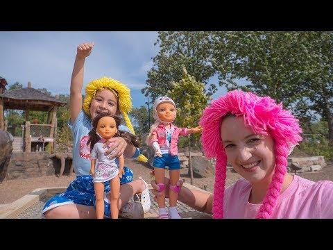 Muñecas Nancy Paseando un Dia en el Parque S3:E164