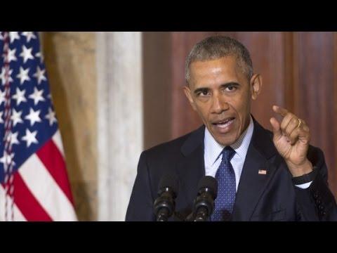 Obama goes on tirade against Trump over 'radical Isl...