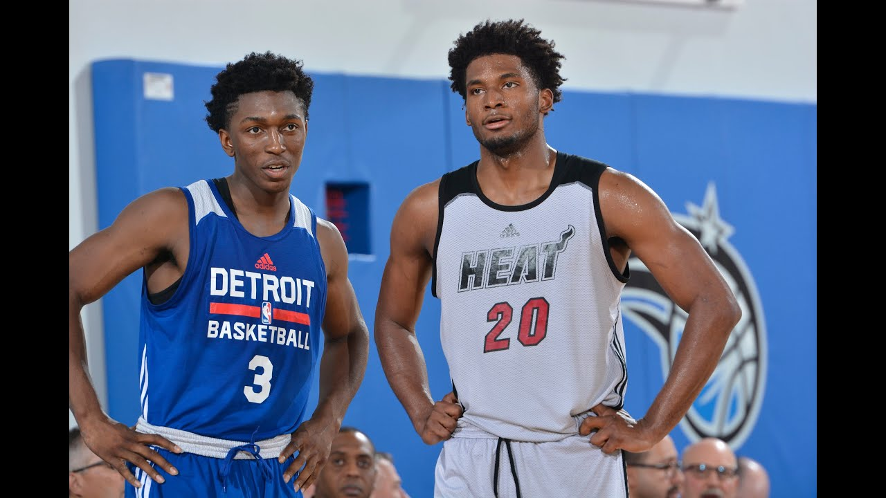 Justise Winslow and Stanley Johnson Duel