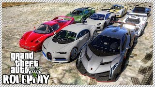 GTA 5 Roleplay - 'HUGE' $42,000,000 Exotic Car Auction | RedlineRP #58