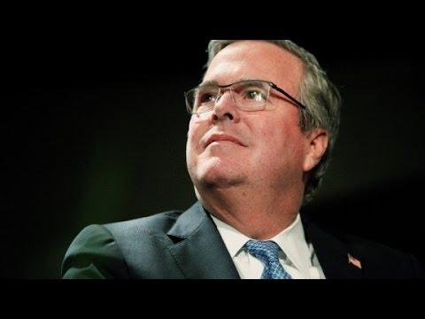 Jeb Bush sounding like a candidate
