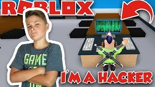 HACKING COMPUTER in ROBLOX FLEE THE FACILITY | ESCAPE THE FACILITY BEFORE BEAST GETS YOU