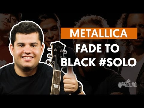 Fade To Black - Metallica (how To Play - Guitar Solo Lesson) video