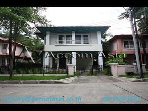 SALE : BANGKOK VILLA IN COMPOUND / LADPRAO – BANGKOK