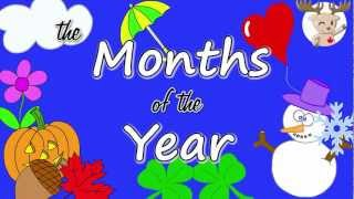 The Months of the Year Song