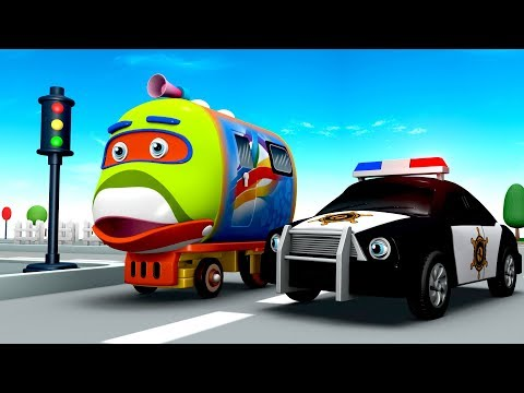 Bob The Train: Learn Vehicle Facts from Bob The Train - Cartoon for Kids - Kids Videos for Kids