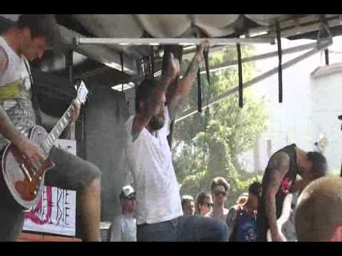 Every Time I Die - Warped Tour 7/26/12