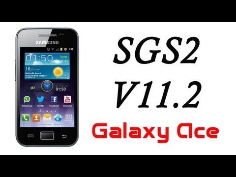 ROM SGS2 V11.2 JB para el Galaxy Ace