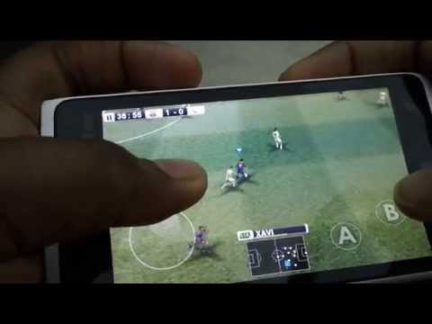 PES 2012 for Nokia Lumia Phones