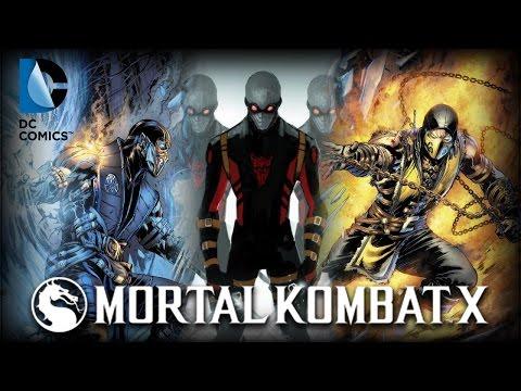Mortal Kombat X News: DC Comics Making MKX Comics, & New Character?
