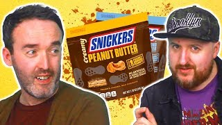 Irish People Try Nut Butter Snickers