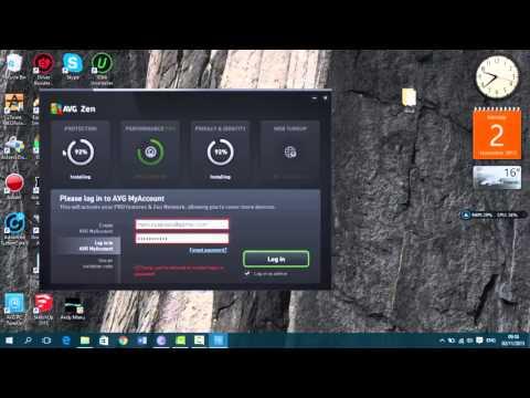 Como descargar avg antivirus free 2016 y avg pc tune up 2016