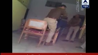 SHOCKING video of police giving third degree torture to theft accused in Saifai
