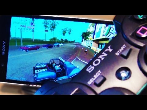 SONY XPERIA Z PS3 Wireless Controller How to Connect / Pair