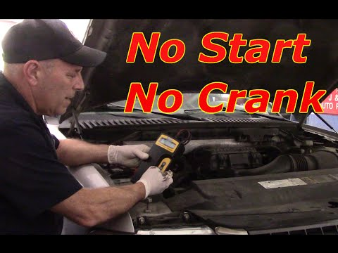Diagnosing  No Start / No Crank/Replace Starter 2006 Ford Expedition