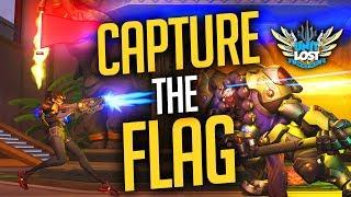 Overwatch - Capture The Flag Gameplay (NEW Ayutthaya Map)