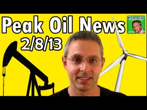 Peak Oil News:  2/8/13  BMW I3 Electric Car, Wind Beats Out Natural Gas