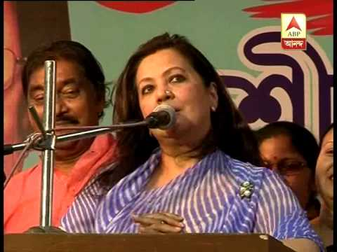 Munmun Sen's First Speech At Bankura video