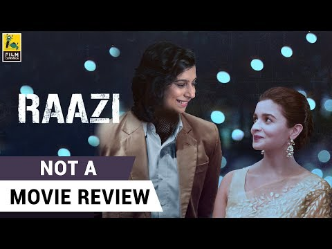 Raazi | Not A Movie Review | Sucharita Tyagi | Film Companion thumbnail