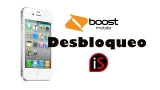 Desbloqueo iPhone 4S iOS 9/10 Boost Mobile a TELCEL