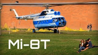 Mi-8T taking off in Saint Petersburg - HD 50fps