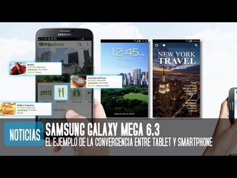 Samsung Galaxy Mega 6.3. Precio. características y especificaciones