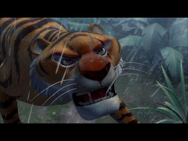 Маугли - Книга Джунглей –Водопад – развивающий мультфильм для детей