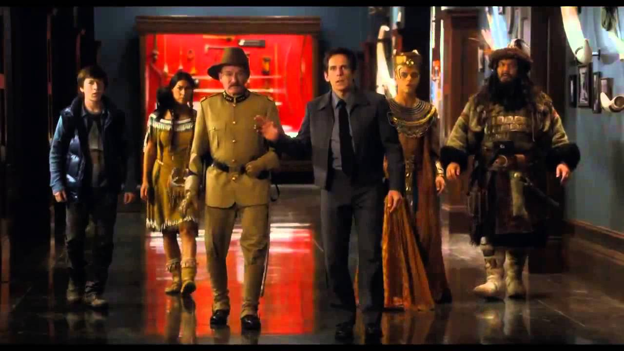 Night at the museum movie trailor