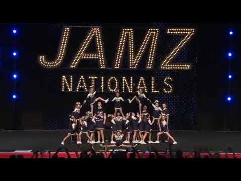 2nd Place at JAMZ Nationals Cheerleading Competition in Las Vegas 2016