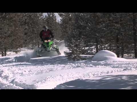 Snowmobiler TV Show 5 Test Riding the Cat F800 and Yamaha Vector