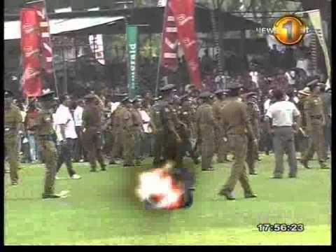 Police fire tear gas to control clash at ssc school big-match
