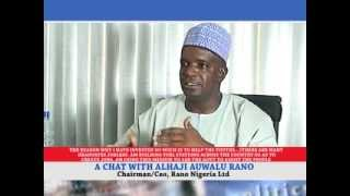 Alhaji Auwalu Rano as a special Guest on issues and society Part 1