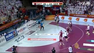 قطر تبلغ نصف نهائي كأس العالم لكرة اليد