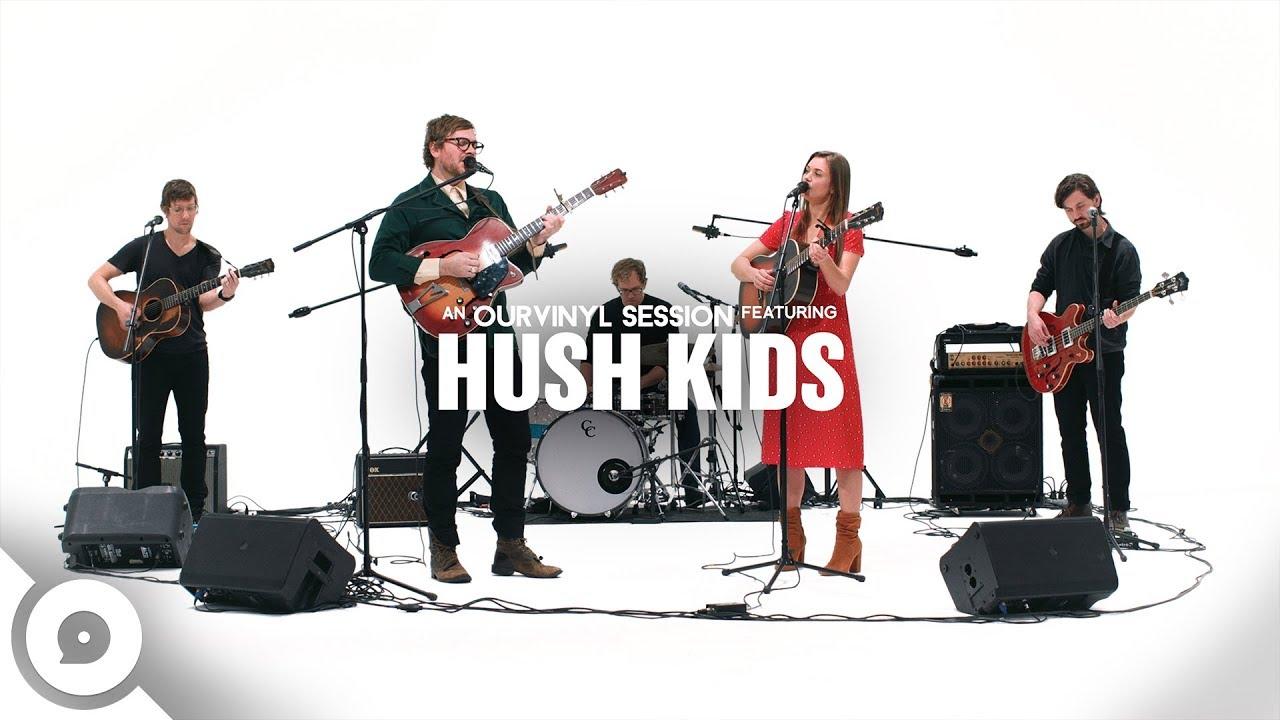 "Hush Kids - 「OurVinyl Sessions」にて""Goodbye Rain""など4曲を披露 ライブセッション映像を公開 thm Music info Clip"