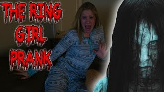THE RING GIRL PRANK ON MY GIRLFRIEND! - SCARE PRANK (PRANKS)