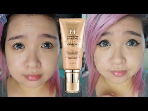 Missha M Vita BB Cream Moisture SPF 20 PA++ First Impression Review