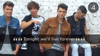Union J - Tonight (We Live Forever) | Lyric Video
