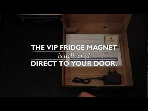 The VIP Fridge Magnet - How it works